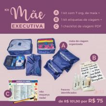 Kit Executiva - Org. de Mala, Etiqueta Necessarie, Check List