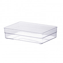 Organizador Diamond 22,5X15X5,2 Cm Cristal - Paramount 938