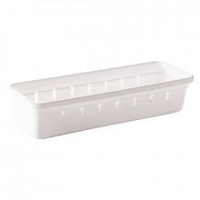 Organizador de Gaveta de Plástico L1 (22,5x7,9x5,0 cm) - 9732 - Plasutil