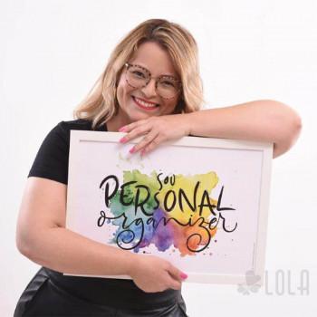 Poster A3 - Sou Personal Organizer - Colorido - Loladecor Artigos e Decorações