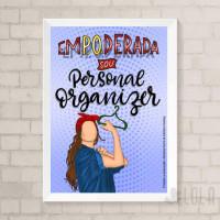 Poster A4 - Empoderada - Loladecor Artigos e Decorações