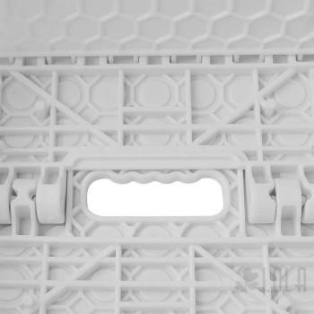 Banco / Banqueta - Dobrável Pequeno Branco - 1 peça - Loladecor