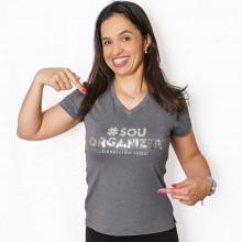 Camiseta Personal Organizer Baby Look - Cinza - GG - Loladecor Artigos & Decoracoes
