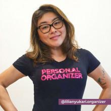 Camiseta Personal Organizer B.Look Preta com Pink Tam M