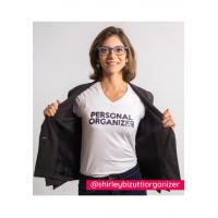 Camiseta Personal Organizer B.Look Branca com Preto Tam M