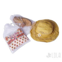 Saco de Organza - 26x40cm - kit com 10 peças - Branco - Loladecor Artigos e Decorações